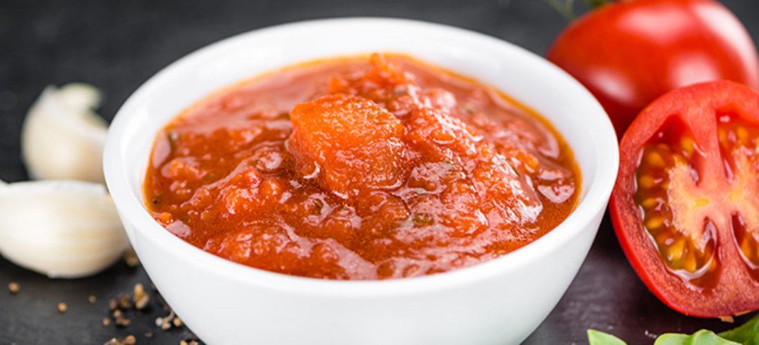 Salsa cruda con aceite