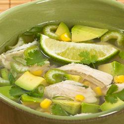 ¿Cómo hacer sopa de Lima?