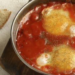 Receta de Huevos Navegantes