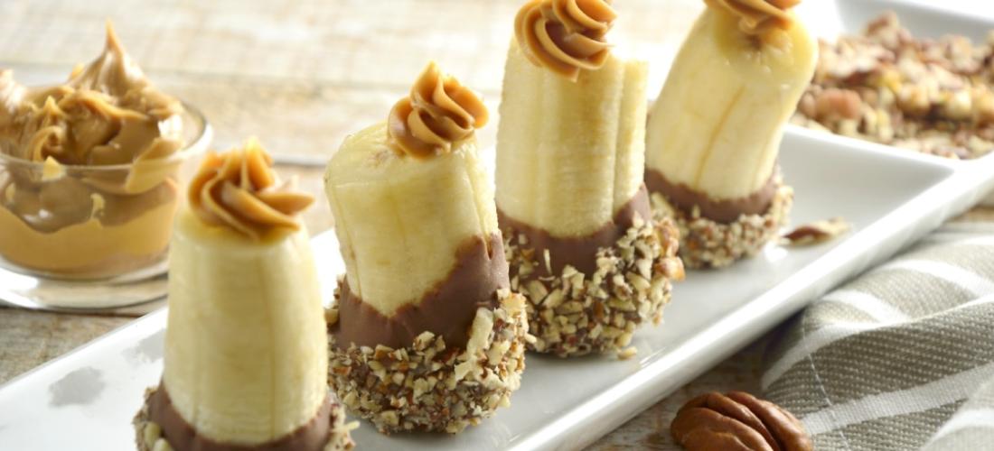 Bocaditos de Plátano Chocolate