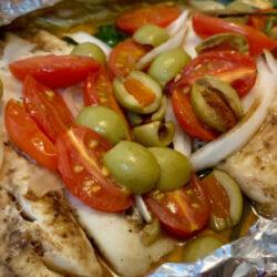 Receta pescado empapelado