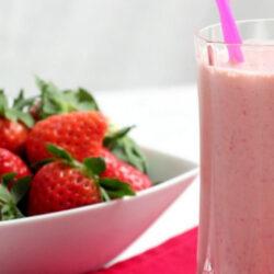 ¿Cómo hacer agua de fresa?