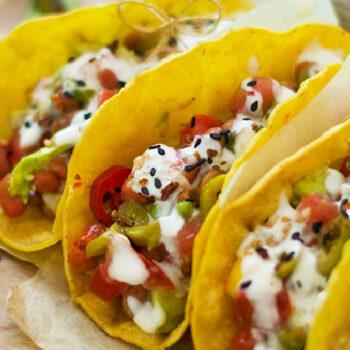 Receta Tacos Veganos de Champiñones